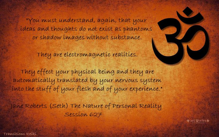 Thoughts as electromagnetic realities